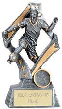 Flag Football Trophy - Resin - Free Engraving