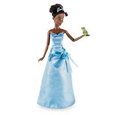 "Disney Princess & The Frog Tiana Classic 12"" Doll Naveen Frog Figure"