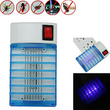 Electric LED Socket Mosquito Fly Bug Insect Trap Zapper Killer Night Lamp US110V