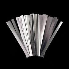 100pcs/lot 0.15x6x100mm nickel strip sheets for battery spot welding machine PL