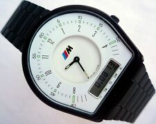 BMW M Power Classic Motorsport Car Accessory M3 E30 E36 Racing Chronograph Watch