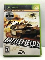 Battlefield 2: Modern Combat (Microsoft Xbox, 2005) Complete w/ Manual - Tested