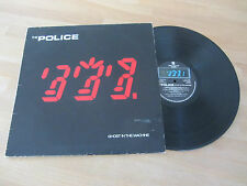 """THE POLICE ~ GHOST IN THE MACHINE ~ 1981 ROCK LP ~ """"EVERY LITTLE THING SHE DOES"""""""