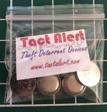 Tact Alert Spare Battery Set! 3 x LR44 batteries + 1x AG10 For Tact Alert Alarm