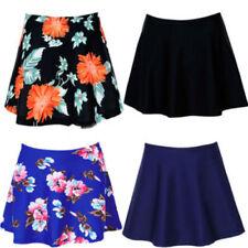 Womens Swim Skirt Bikini Bottom Short Pant Swimwear Beach Mini Dress Plus Size