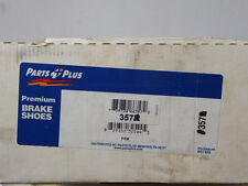 BRAND NEW PARTS PLUS DRUM BRAKE SHOES 357 FITS VEHICLES ON CHART