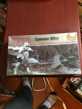 Vintage Star Wars Return of the Jedi Speeder Bike MPC Model Kit 1983 Sealed