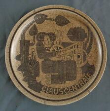 J. SCHIJNS MOSA wandbord 29,5cm bord Clauscentrale opening 06-10-1978 wall plate
