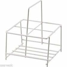 Supa 4 Milk Bottle Holder Tidy Crate Rack Carry Carrier Doorstep
