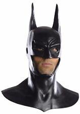 Deluxe Batman Costume Mask & Cowl Adult Bat Man - Fast Ship -