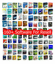 160 Software Collection Bundle Master Resell Rights Huge Collection($1400 Value)