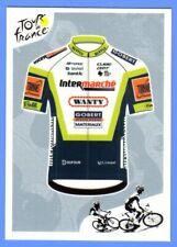 Stickers PANINI TOUR DE FRANCE 2021 #214 Kit Maillot Intermarché - Wanty  Gobert