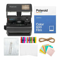 Polaroid OneStep Closeup Camera with Polaroid Color Instant Film Bundle