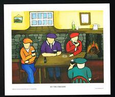 By The Fireside/Bar/Guinness/N/Irish Art Group/Fine Print/Martin Laverty/Ireland