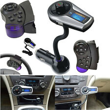 Unique Bluetooth MP3 Player FM Transmitter Handsfree Car Kit for iPhone Samsung