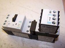 NEW SIEMENS 8 AMP MOTOR STARTER COMBINATION 600 VAC 3Ø 7.5 HP 3RT1016-1AK61 PLUS