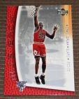 Michael Jordan 2001 Upper Deck MJ Back 1992-93 Winning three straight Title card