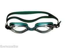 Water Gear Razor GREEN Goggles Aqua Competition Performance Swim Anti Fog 29100G