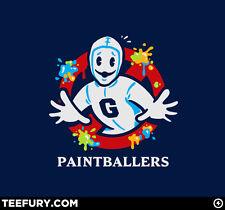 """Paintballers"" Community Teefury Shirt - Men's 2XL"