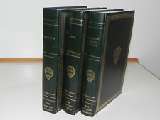 Vintage 3 Very Nice Books The Harvard Classics  Deluxe Registered Edition 1969