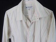 MATTINO Mens Long Sleeve Business Shirt Mens Wear Classic Italy size M 39-40
