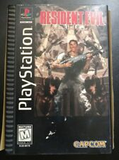 Resident Evil (PlayStation/PS1, 1996) Complete in Box CIB Longbox