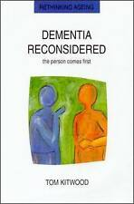 Dementia Reconsidered by Tom Kitwood 9780335198559 (Paperback, 1997)