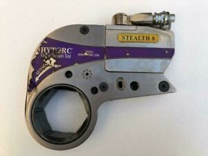"""HYTORC STEALTH 8 HYDRAULIC TORQUE WRENCH 3-1/8"""" HEX 7984 FT.LBS 10823 NM 700 BAR"""