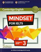 Mindset for IELTS Level 3 Student's Book with Testbank and Online Modules: An Of