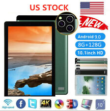 "2020 10.1"" WIFI Tablet Android 9.0 8G+128G 10 Core PC Google GPS + Dual Camera"