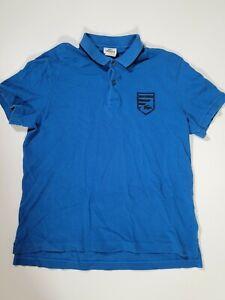 Lacoste Polo Shirt Badge Logo Blue Size 6