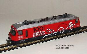 Noch 7074043 (KATO 3101)  -E-Lok  Rhätische Bahn Ge 4/4-III -Neu OVP