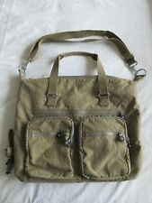 Kipling Shoulder Bag - Very Large - Erasto - Beige - 20 Litre