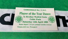 More details for celtic fc csc events - cardonald no 1 csc - celtic park 14-04-1990