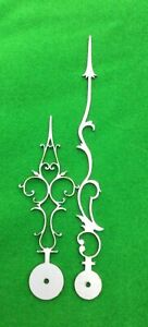 Antique clock hands from Original Design (Longcase clock) LC17 'Made in England'