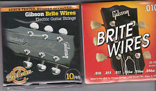 Gibson Brite Wires .010 electric guitar strings new