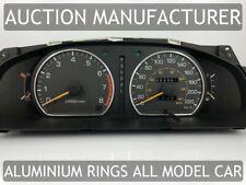 Toyota Camry V10 92-96 Chrome Cluster Gauge Dashboard Rings Speedo Trim 2pcs