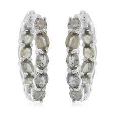 Hoop Natural Sapphire Costume Earrings