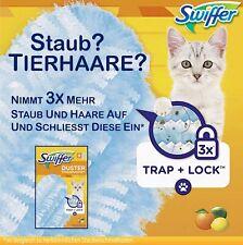 Swiffer Staubmagnet Tücher mit Zitrusduft für Tierbesitzer Nachfüller (8 Tücher)