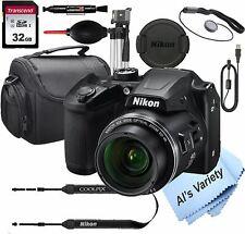 Nikon COOLPIX B500 16 MegaPixel Digital Camera + 32GB Card, Tripod, Case and Mor