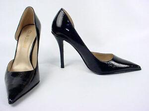 New COLIN STUART d'Orsay Women Leather High Heel Pump Pointy Toe Shoe Sz 10 B