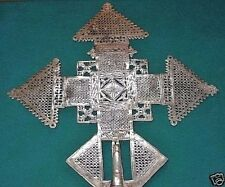 Handmade Ethiopian Orthodox Christian Metal Processional Cross Ethiopia, Africa
