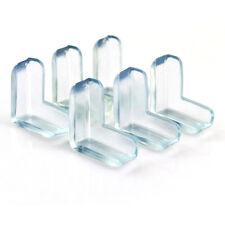 4 pezzi Clear Table Protezione per paraurti angolare da scrivania Protezione @LQ