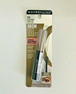 MAYBELLINE Brow Fast Sculpt Gel Mascara in Soft Brown #255