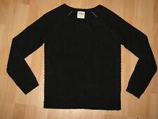 Schwarzer Strick Pullover Gr.M -ungetragen - We Love Knit -C&A