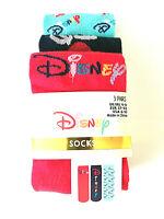 3 Paar Disney Damen Socken Strümpfe Logo Mickey Mouse Pride Bunt 37-42 Primark