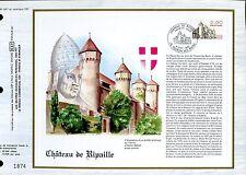 DOCUMENT CEF PREMIER JOUR  1982  TIMBRE N° 2232 CHATEAU DE RIPAILLE