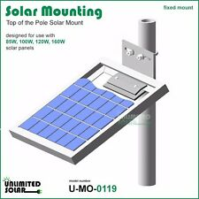 Unlimited Solar Universal Solar Panel Top of Pole,Wall Mounting Kit