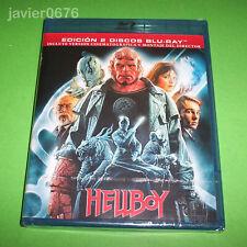 HELLBOY BLU-RAY NUEVO Y PRECINTADO EDICION 2 DISCOS