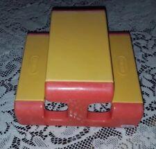 Little Tikes Miniature Picnic Table Dollhouse Doll House Size Orange Yellow